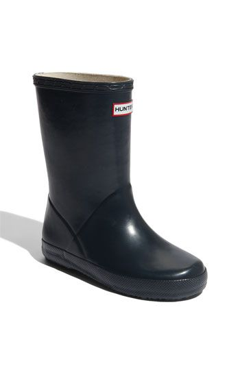 Hunter 'Kid's First' Rain Boot (Toddler & Little Kid) available at #Nordstrom $50.