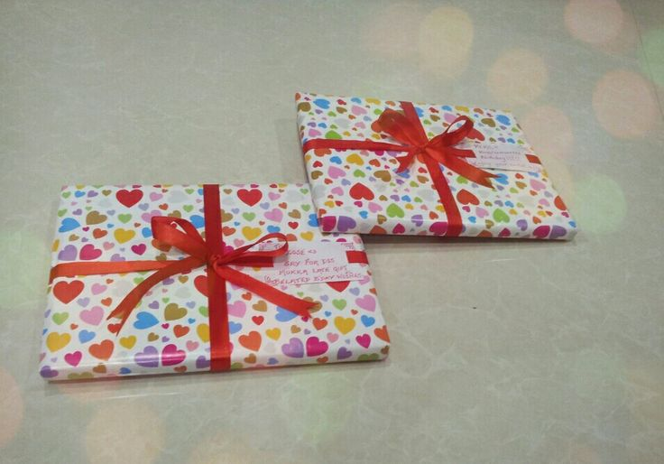 My gift wrapping skills;)