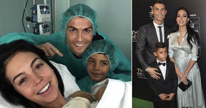 Cristiano Ronaldo Welcomes His Fourth Child To A complete Family