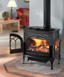 New woodstove for kitchen