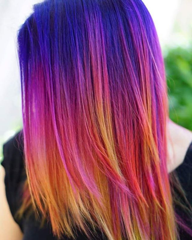 The moment you doubt yourself is the moment you'll fail. So no one is doing what you're doing around you and that can be a frightening place to be alone... But rest assured you're NOT alone,  we are out there painting our hearts out too. Find your TRIBE! Peace #unicornhair #UNICORNTRIBE #iroirocolors #modernsalon #behindthechair #americansalon #allure #va #nyc #la #Tokyo #paris #milan #vogue #buzzfeed