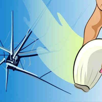 Así puedes reparar un cristal roto con un ajo