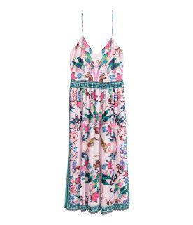 Medellånga klänningar - Shoppa klänningar online | H&M SE