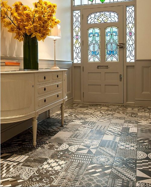 amazing ideas on painting linoleum floor