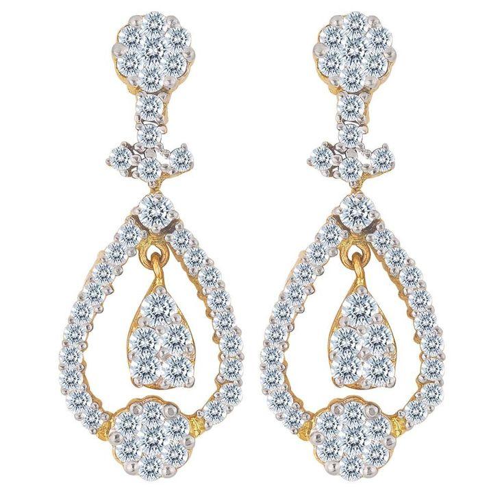 Nakshatra Diamond Earring NERB102SI-GH
