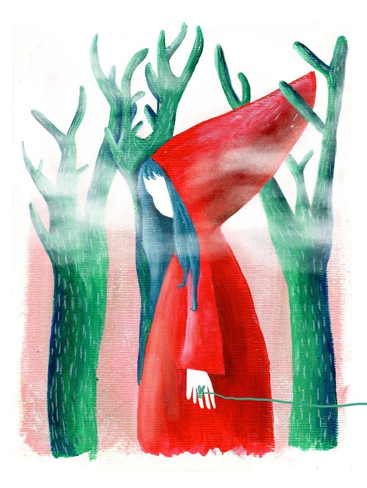"""Ilustración de """"Pepe Reyes"""", disponible en www.galeriaboston.cl"""