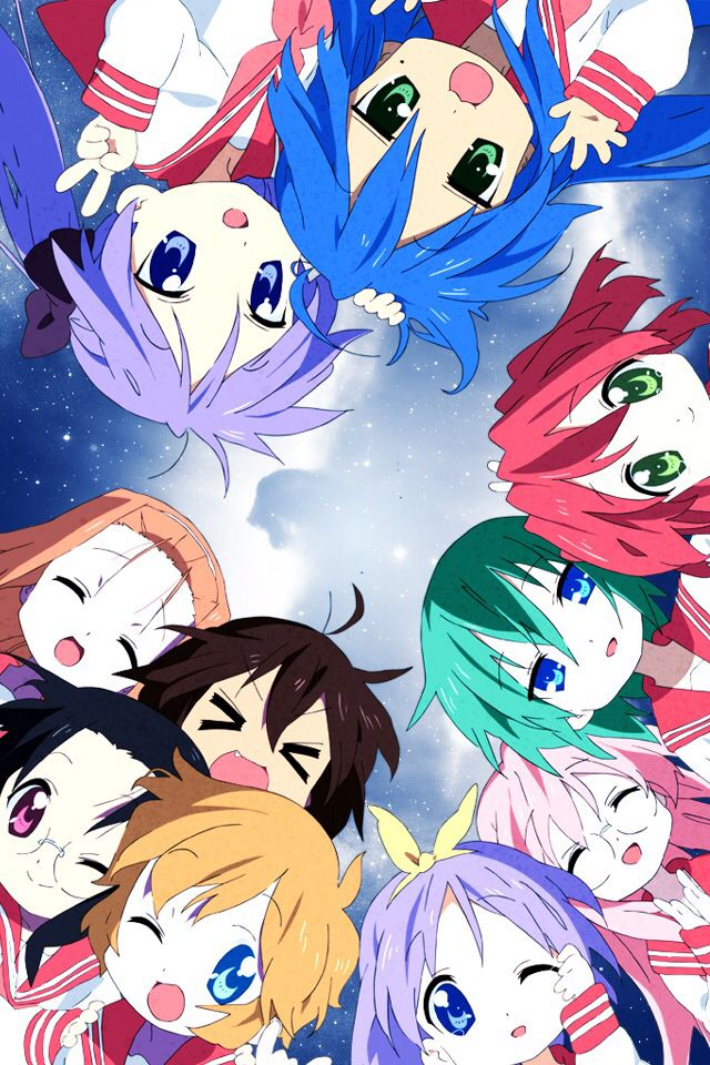 Lucky Star is one of my favorite animes. Tsukasa and Konata are my favorite characters from the show.