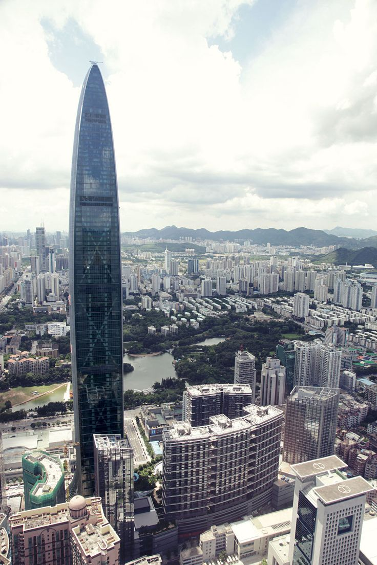 11. Kingkey 100 in Shenzhen, China 1449 ft