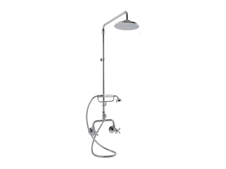 Bastow Georgian Exposed Phone Shower Set - Bastow tapware represents a time of distinct fashion, elegant design and classic architecture. #traditional
