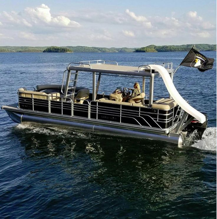 Used Pontoon Boat | eBay