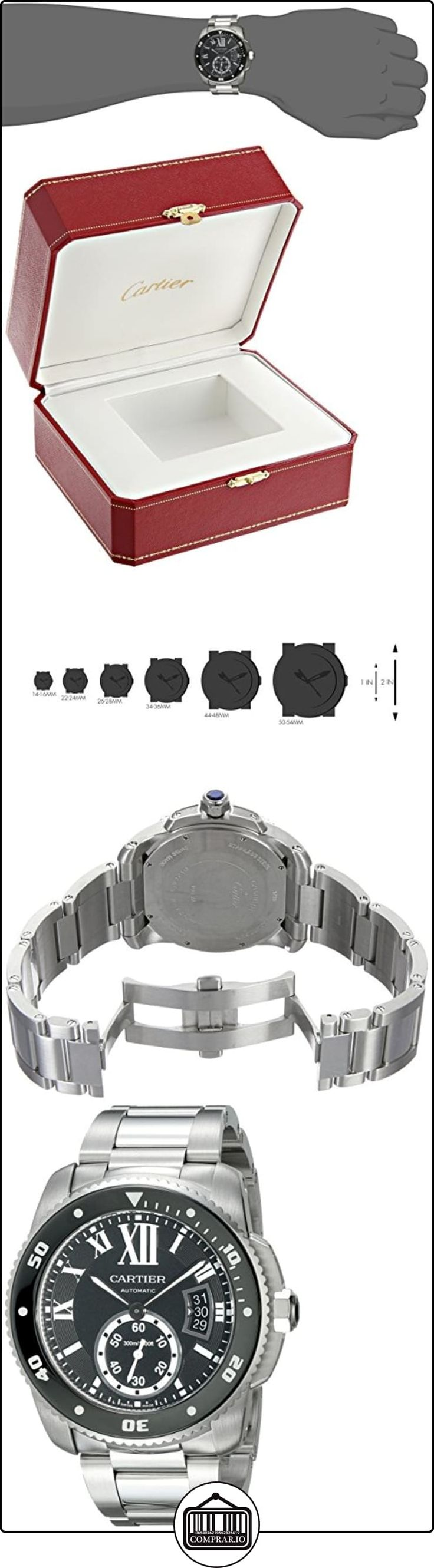 CARTIER CALIBRE DE CARTIER DIVER RELOJ DE HOMBRE AUTOMÁTICO W7100057  ✿ Relojes para hombre - (Lujo) ✿