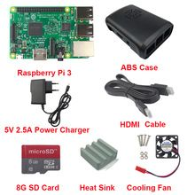 Raspberry Pi 3 Board + 5V 2.5A Power Charger + Case +Heat Sink +Cooling Fan + HDMI Cable + 8G SD Card For Raspberry Pi 3 Model B   	Related Products:     US $55.00  http://insanedeals4u.com/products/raspberry-pi-3-board-5v-2-5a-power-charger-case-heat-sink-cooling-fan-hdmi-cable-8g-sd-card-for-raspberry-pi-3-model-b/  #shopaholic #dailydeals