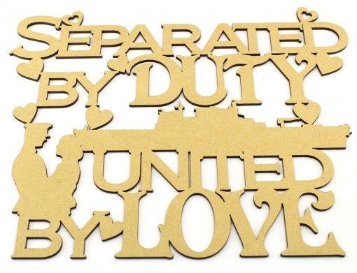 Separated by duty ....navy  http://www.lornajayne.co.uk/