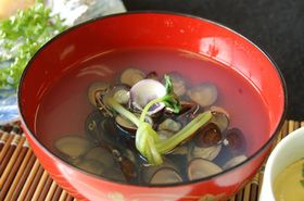 しじみのお吸い物 #recipe #Japanese #soup #shijimi_clam