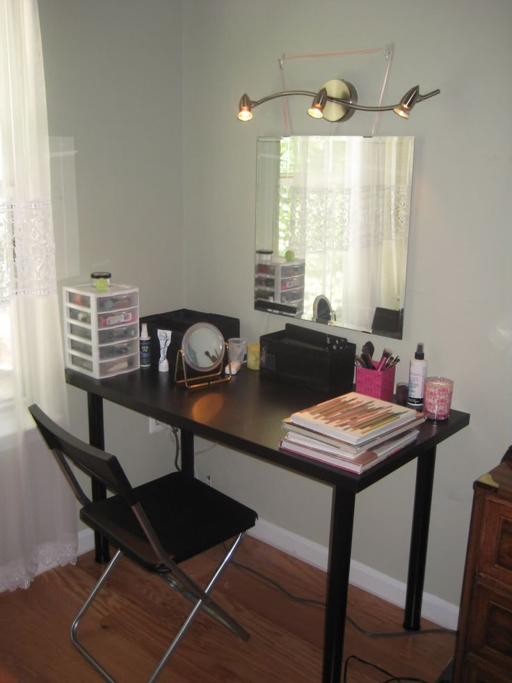 Broken lipsticks: DIY Vanity! Favorite Places & Spaces Pinterest Vanities, Ikea and DIY ...
