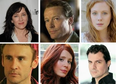 Maria Doyle Kennedy (The Tudors) as Vera Bates (wife of John Bates)  Iain Glen (Spooks, Wives & Daughters) as Sir Richard Carlisle  Zoe Boyle (Sons of Anarchy-Trinty Ashby) as Miss Lavinia Swire  Cal Macaninch (Wild At Heart, Holby Blue) as Lang, a new valet  Amy Nuttall (Emmerdale Farm, Hotel Babylon) as new housemaid Ethel  Daniel Pirrie is listed as Major Bryant (3 episodes): Cast Member, Seasons, Downtown Abbey, Downton Abbey, Things Downton, Downton Obsess