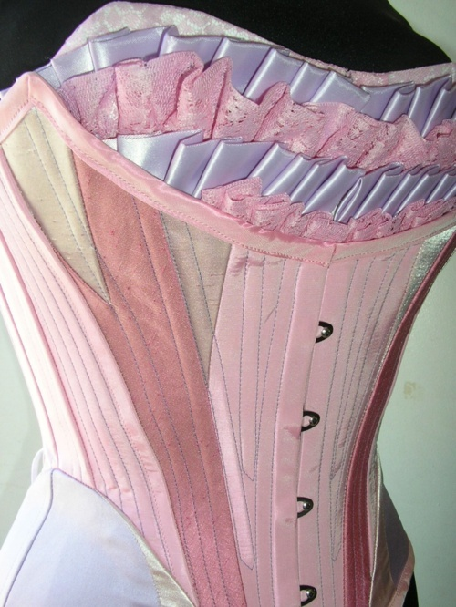 the complex construction of corsets always amazes me.