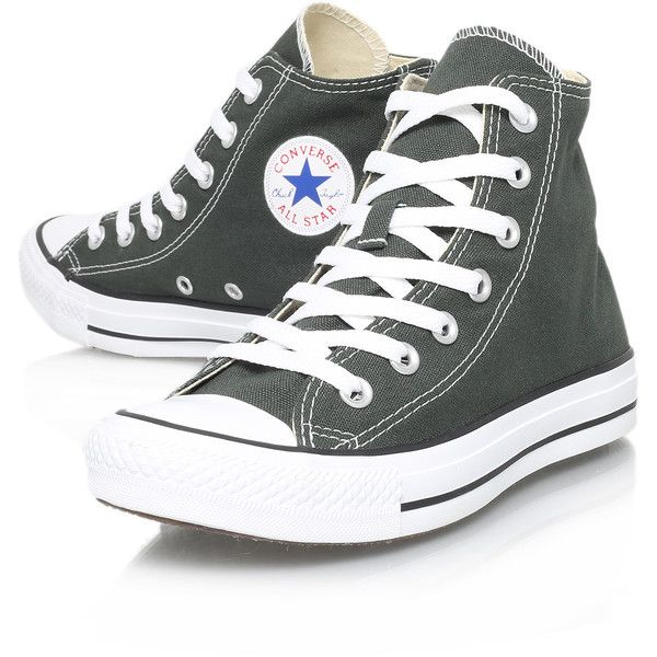 Converse Ct Hi Seas Green found on Polyvore
