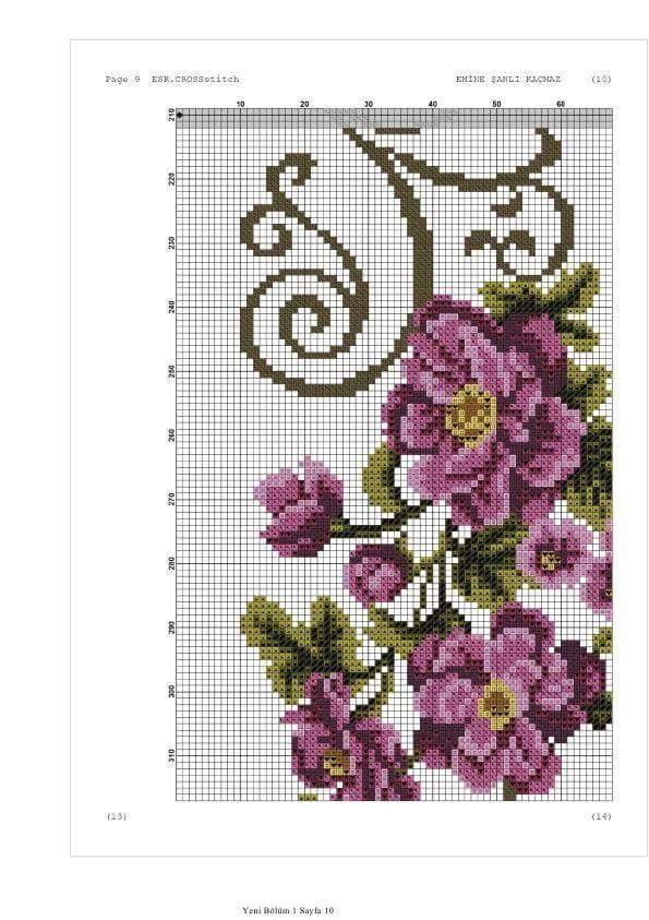 Pin de Liz FM en Punto   Pinterest   Cross stitch flowers, Cross ...