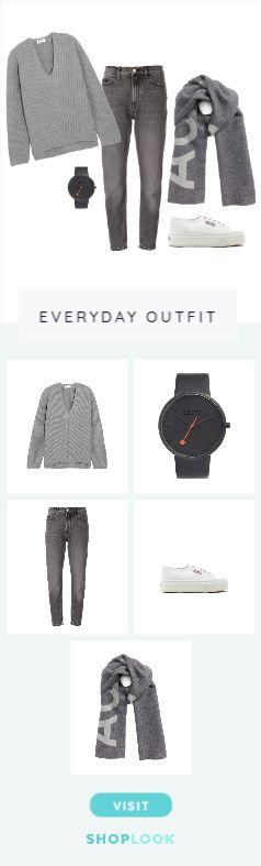 Shades of Grey For A Cold Day created by aireandcai        on ShopLook.io perfect for Everyday. Visit us to shop this look.