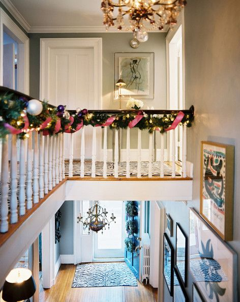 Decorate your banister!