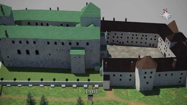 Vimeo Turun linnan rakennusvaiheita - Construction of Turku Castle
