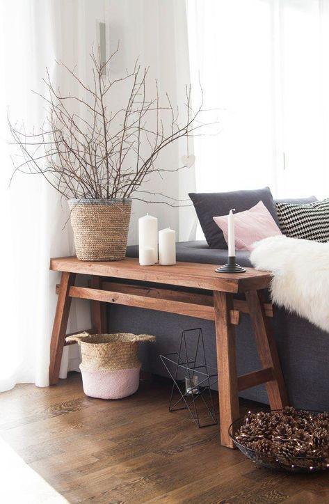 Wohnbereich mit Ypperlig von Ikea