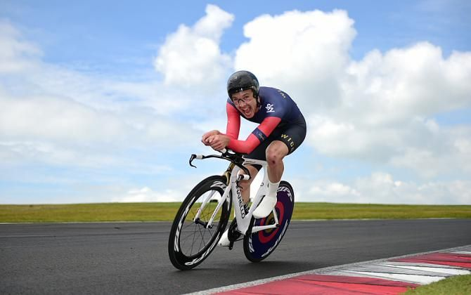 Owain Doull at the British ITT champs