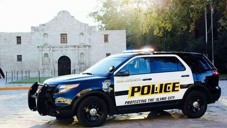 SAPD The Alamo Emergency vehicles, Police cars