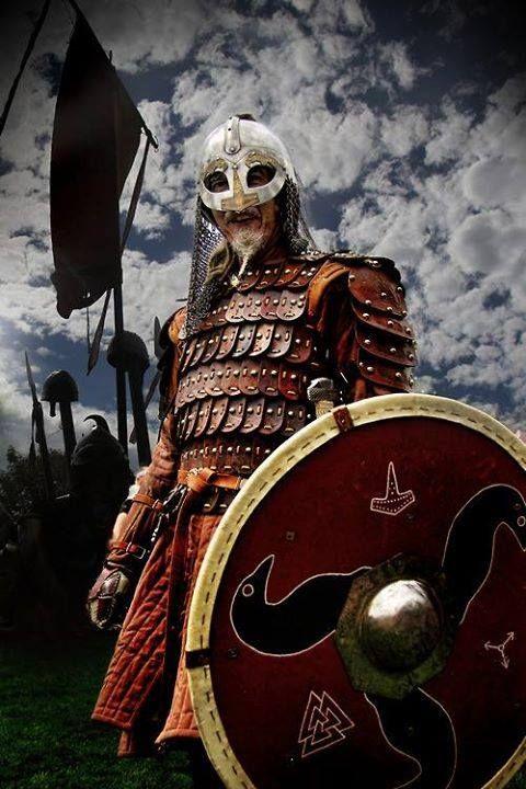 Viking reenactor