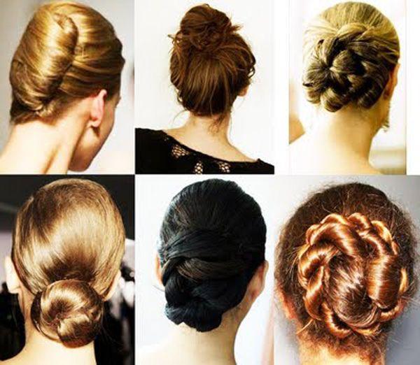 Los moños están presentes en el verano y en el invierno también.     Vale, en el invierno la mayoría de las mujeres les gusta dejar que el pelo hacia abajo para dejar el cuello cálido, pero también hay que tener en cuenta que el clima frío deja el cabello seco (y mucho!).