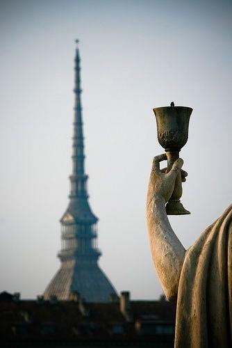 Torino, Mole Antonelliana dalla Gran Madre
