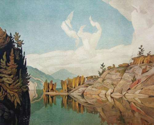Morning On The Key River A.J. Casson