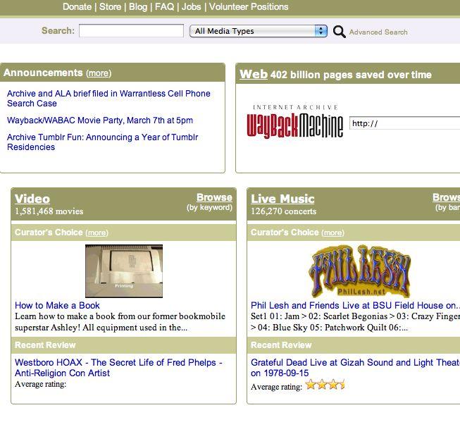 Descubre cómo ver películas online gratis completas en Archive.org.