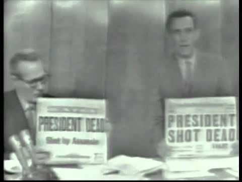 NBC NEWS Live Coverage of The Assassination of President Kennedy Part 4 (4:30 P.M - 5:30 P.M) - YouTube