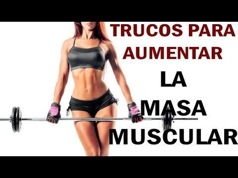 COMO AUMENTAR LA MASA MUSCULAR RAPIDAMENTE-Trucos para ganar músculo rápido