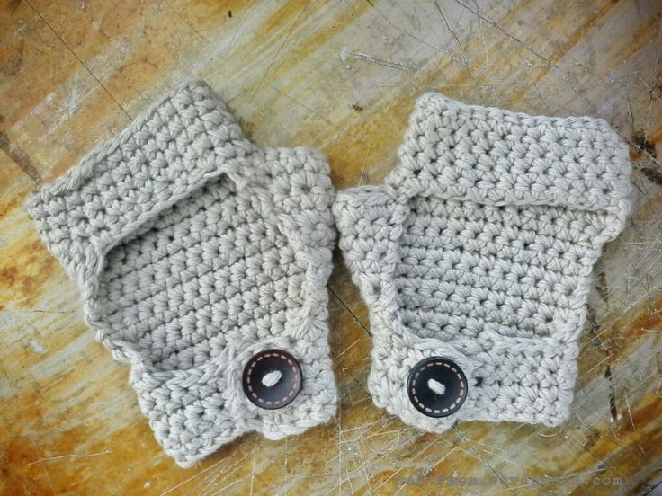 Crochet Bicycle Gloves