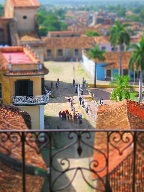 Trinidad, Cuba - Overlooking Plaza del Carmen
