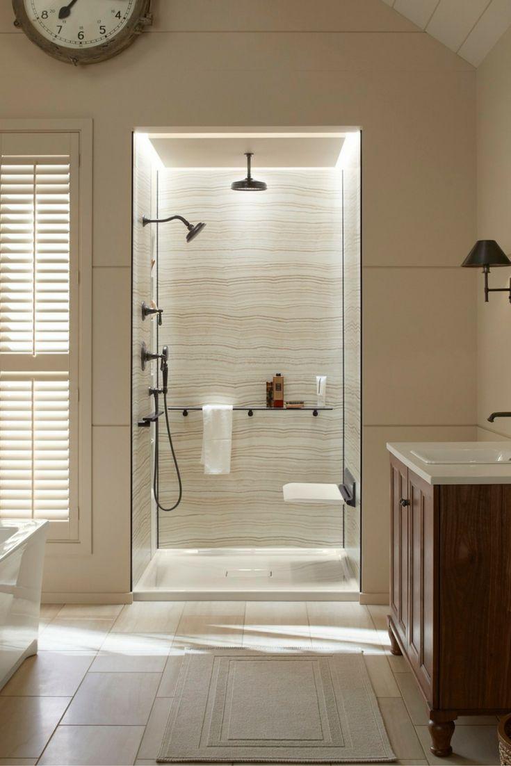 Modern island kitchen design using granite kitchen photo 388980 - 4 Sure Fire Strategies For Shower Walls Which Last