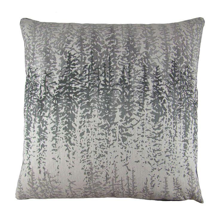 Margo Grey Forest Cushion Cover | Dunelm