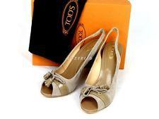 TOD'S Tods Schuhe Shoe Sandaletten 35-40 C413