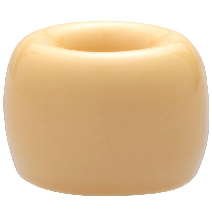 【まとめ買い】磁器歯ブラシスタンド 1本用 マスタード
