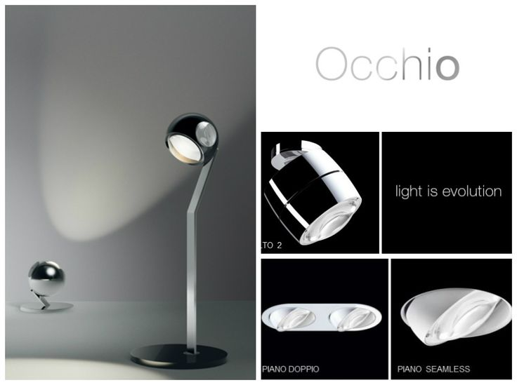 Occhio Lighting by Axelmeise is one of the most popular lighting companies in Germany, Switzerland and Austria. The company is now the market leader for producing high quality light fittings. The companies reputation is based on its unique designs which are always beyond their times.  Check out their website: http://snip.ly/NRhD