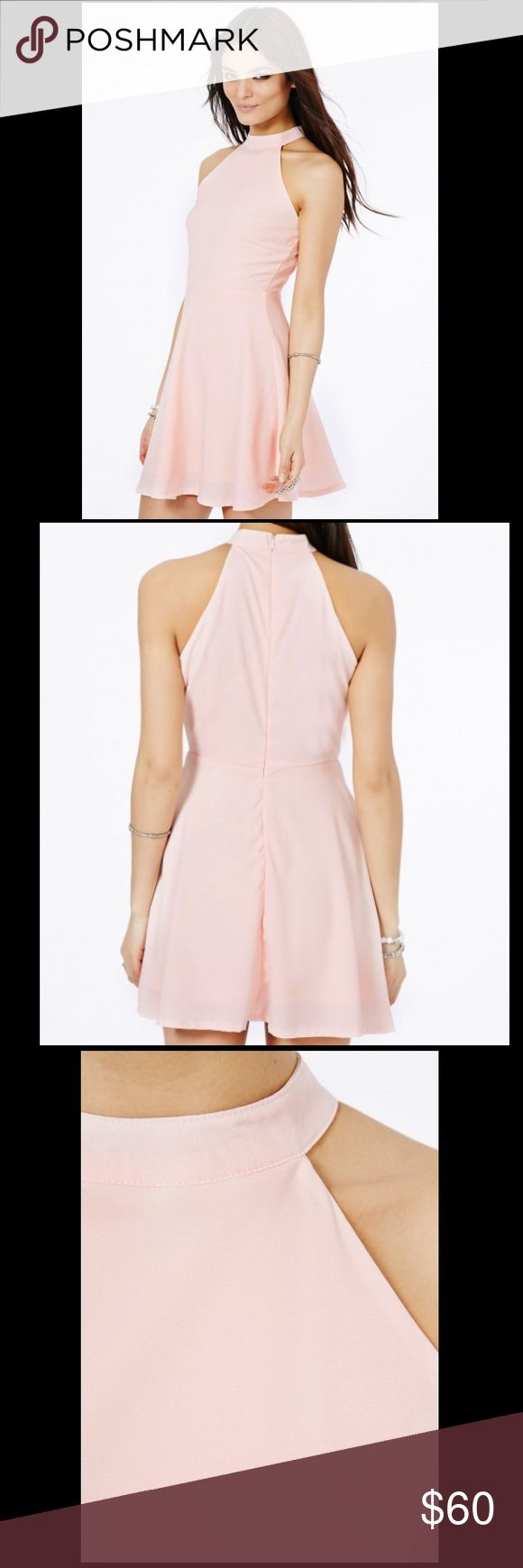 NWT CUTE Pink Missguided Dress💗 Super cute blush pink Missguided dress, new with tags! Perfect for Spring and Summer weddings, parties and barbecues. The dress is in mint condition. It is the pink color from the first few photos, but the same style as the purple dress photos. Missguided Dresses