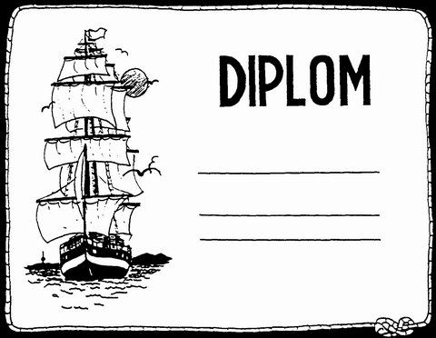 pirátský diplom