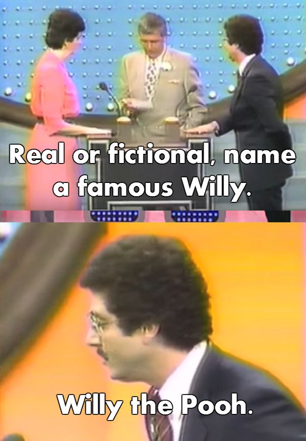 "The contestant who hadn't read the books in a while. | 17 ""Family Feud"" Answers That'll Make You Feel Smart"