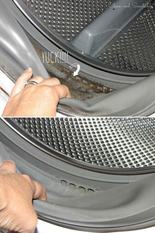 Get the mold out of your front-loading washer.