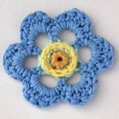 Awesome crochet flower