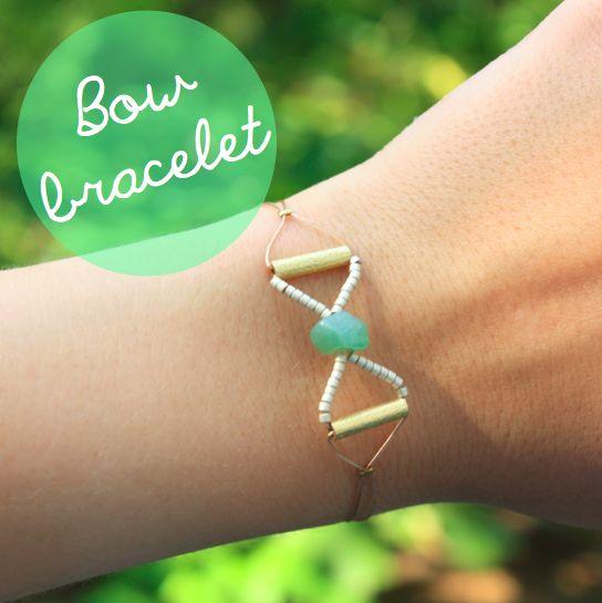 DIY - Bow Bracelet   melimelo