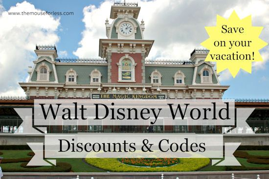 Walt Disney World Discounts and Special Offers #DisneyWorld #SaveMoney #Travel